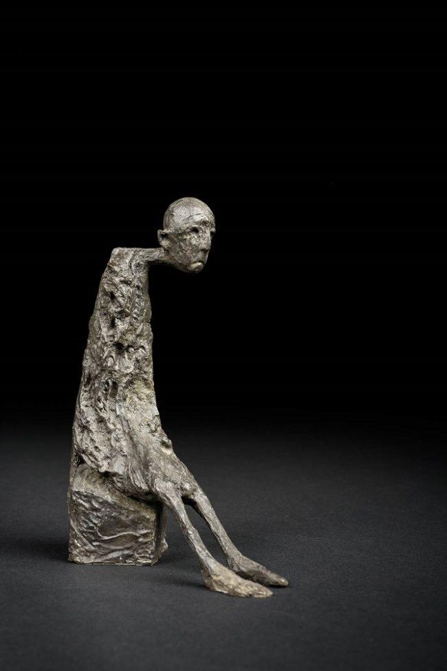 Marc Petit - Le petit mot-16,5 cm -Disponible à la galerie