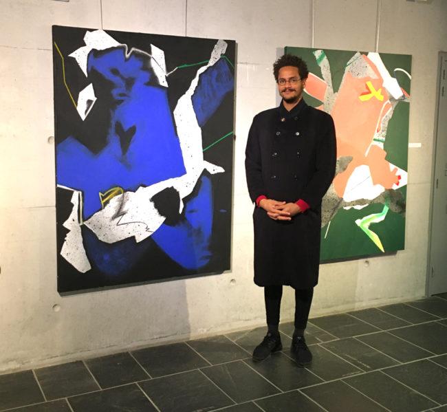 Grégor Belibi Minya à Chambéry - La Galerie Valérie Eymeric