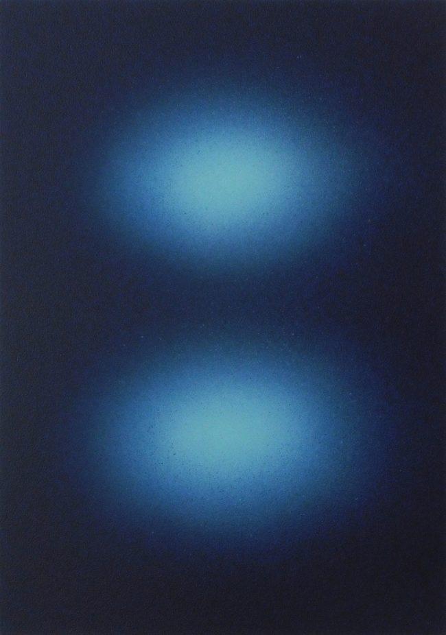 Marc-Antoine Decavèle, Numéro 17, 26x37 cm, acrylique sur toile, Mars 2020