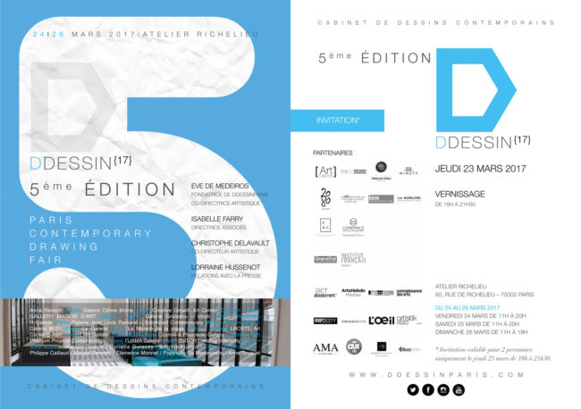 La Galerie Valérie Eymeric-DDESSIN 2017